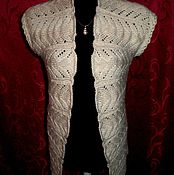 Одежда handmade. Livemaster - original item Knitted vest for women, extended.. Handmade.