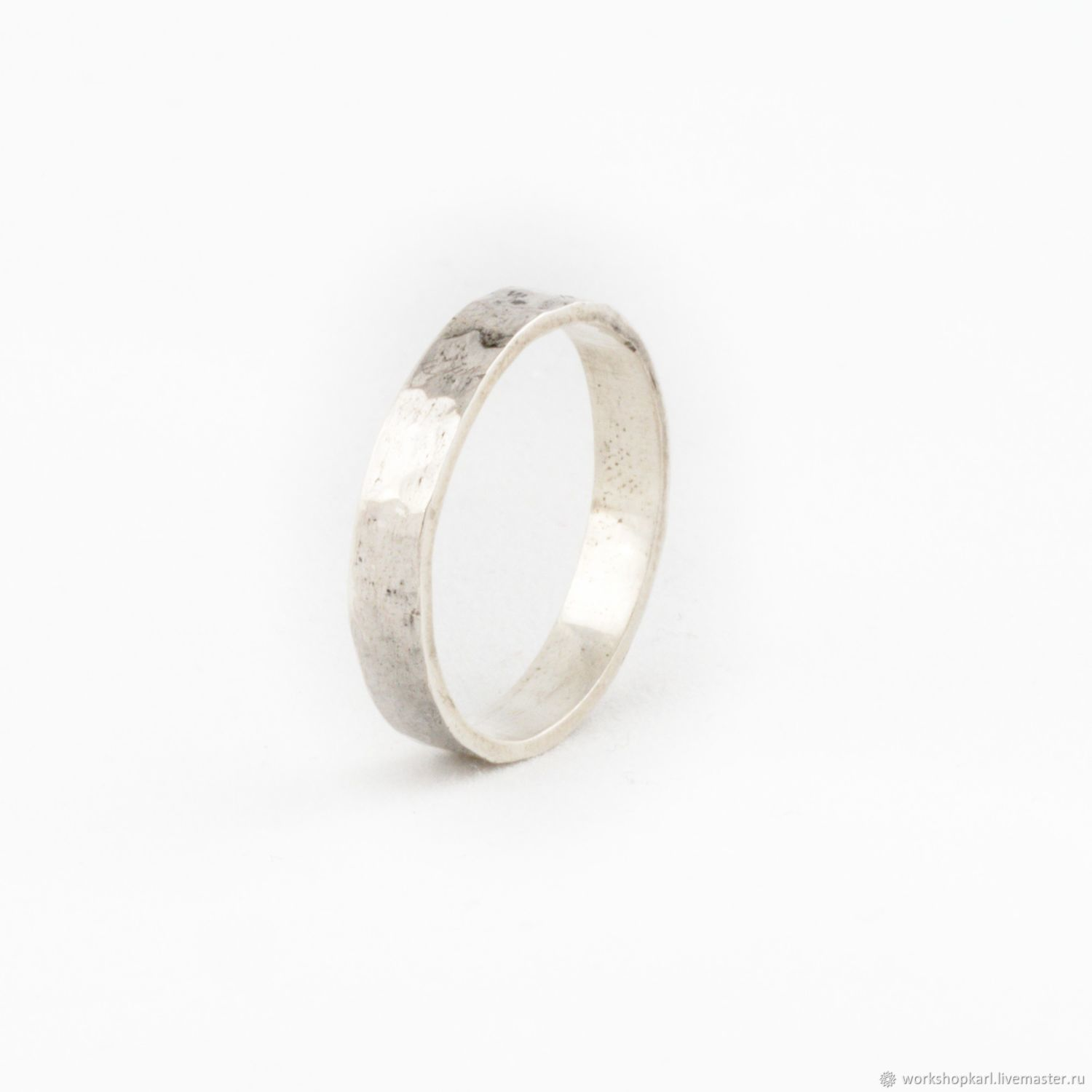 'Forged' texture ring', Rings, Moscow,  Фото №1