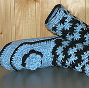 Обувь ручной работы. Ярмарка Мастеров - ручная работа Носки-сапожки. Handmade.