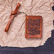 Канцелярские товары handmade. Livemaster - original item Cover for Championship documents. Handmade.