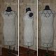 Платье Жозефина - связано на заказ! Крючком- техника безотрывного вязания мотивами. Платье без боковых и плечевых швов.