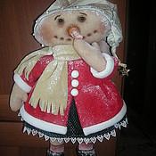 Куклы и игрушки ручной работы. Ярмарка Мастеров - ручная работа Кукла Снеговушка. Handmade.