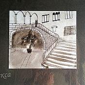 Картины и панно handmade. Livemaster - original item Ink paintings for interior styling. black and white.. Handmade.
