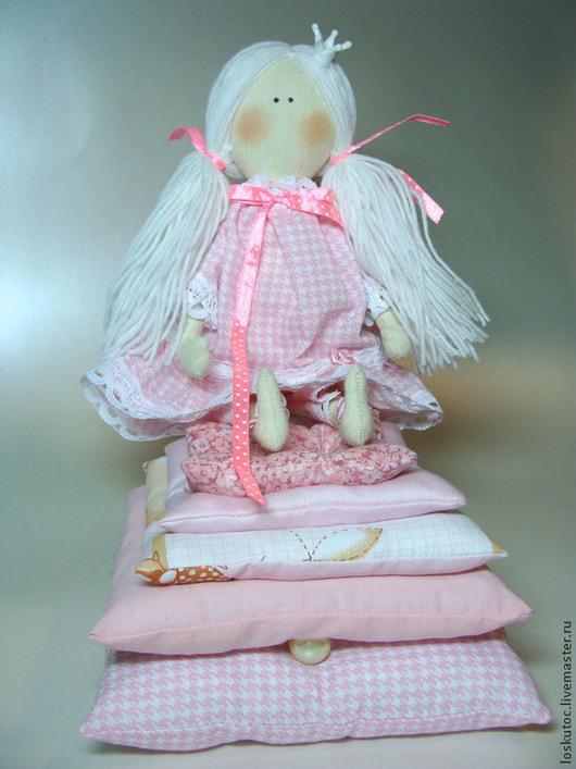 Куклы Тильды ручной работы. Ярмарка Мастеров - ручная работа. Купить ПРИНЦЕССКИ. Handmade. Тильда, подарок на новый год, хлопок