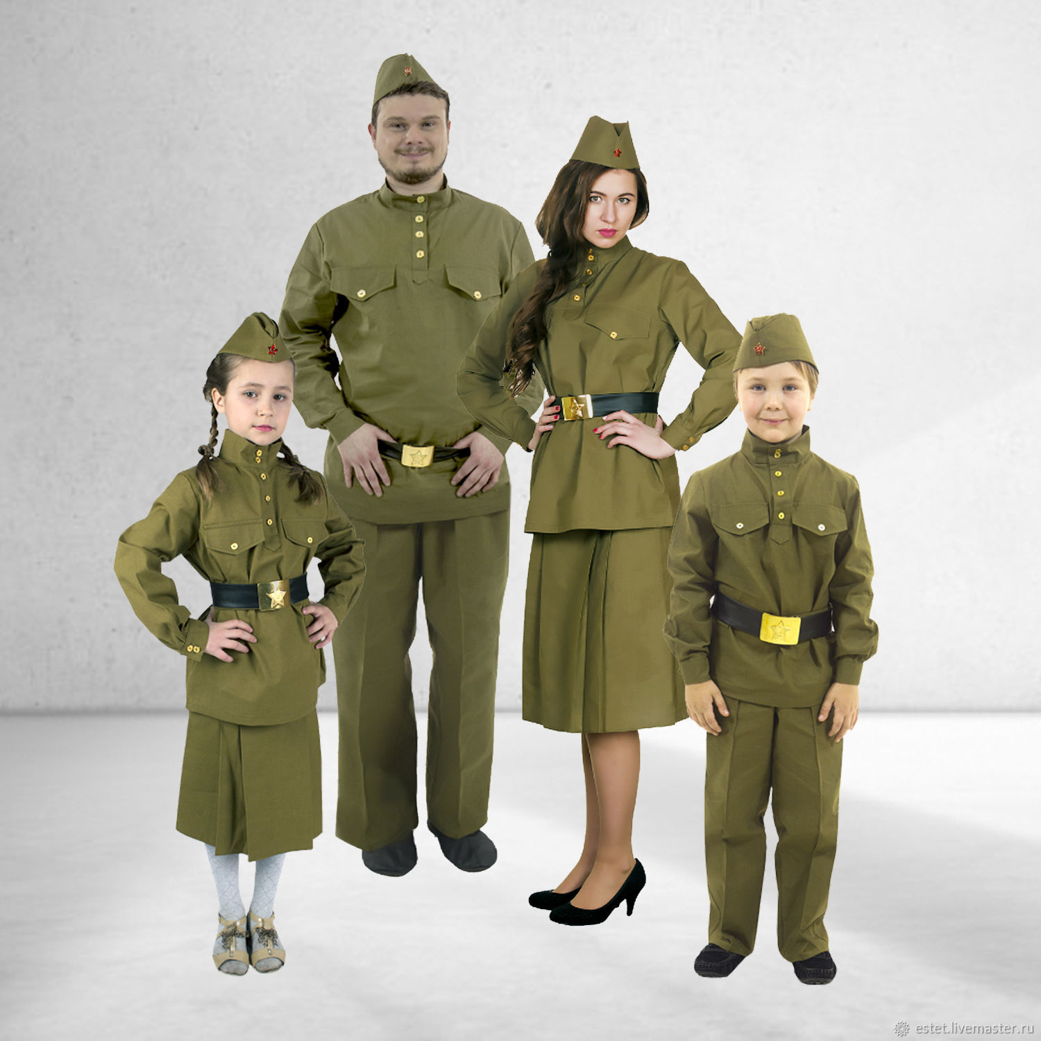 Costume for a Victory Day, Military uniform, Red Army Costume, Second, Carnival costumes, Korolev,  Фото №1