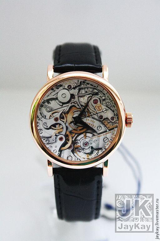 """Часы ручной работы. Ярмарка Мастеров - ручная работа. Купить Часы наручные JK """"Стимпанк"""". Handmade. Наручные часы"""