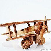 Техника, роботы, транспорт ручной работы. Ярмарка Мастеров - ручная работа Деревянный самолет. Handmade.