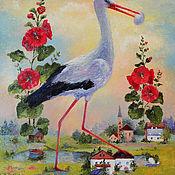 Картины и панно ручной работы. Ярмарка Мастеров - ручная работа «Ожидание чуда».. Handmade.