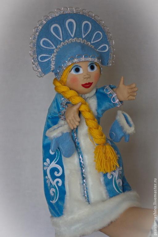 Кукольный театр ручной работы. Ярмарка Мастеров - ручная работа. Купить Новогодние сказки от Деда Мороза и Снегурочки.. Handmade.