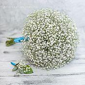 Свадебные букеты ручной работы. Ярмарка Мастеров - ручная работа Белый свадебный букет невесты. Handmade.