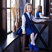 Работы для детей, ручной работы. Ярмарка Мастеров - ручная работа Костюм валяный для девочек Школьная пора. Handmade.