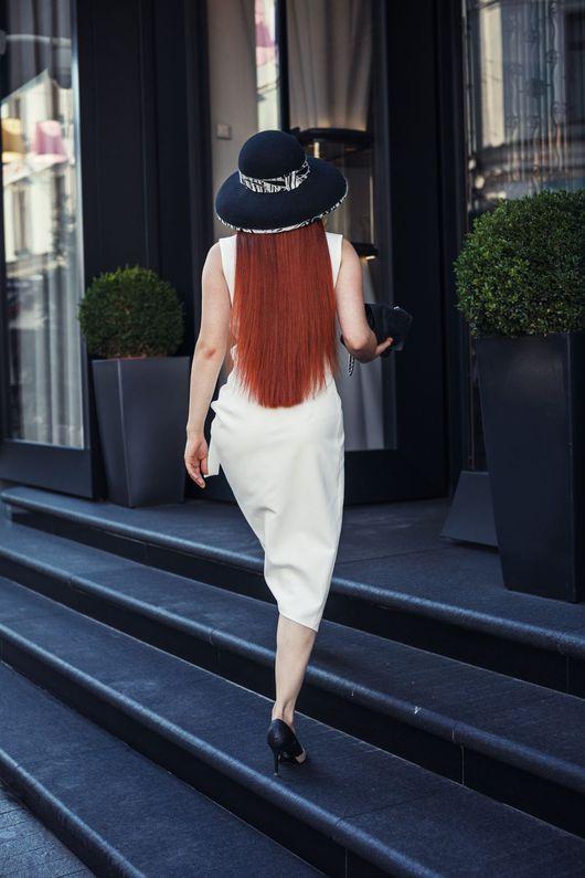 """Шляпы ручной работы. Ярмарка Мастеров - ручная работа. Купить Шляпа """"Marry Black"""". Handmade. Headdresslab, ручная работа"""