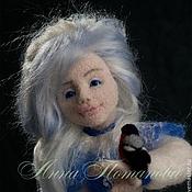 Куклы и игрушки ручной работы. Ярмарка Мастеров - ручная работа Авторская войлочная кукла Январенька. Handmade.