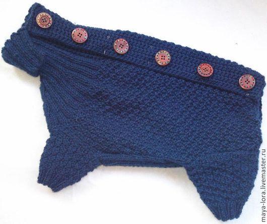 """Одежда для собак, ручной работы. Ярмарка Мастеров - ручная работа. Купить Одежда для собак.Комбинезон """"Зимняя сказка"""". Handmade. для собак"""