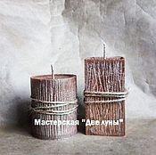 """Сувениры и подарки ручной работы. Ярмарка Мастеров - ручная работа """"Старое дерево"""" эко-свечи. Handmade."""