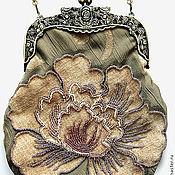 Сумки и аксессуары ручной работы. Ярмарка Мастеров - ручная работа Вечерняя сумочка в античном стиле. Handmade.