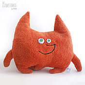 Pillow handmade. Livemaster - original item Plush pillow toy Fox. Handmade.