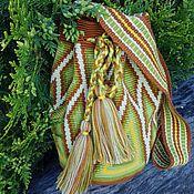 Сумки и аксессуары ручной работы. Ярмарка Мастеров - ручная работа Колумбийская сумка Mochila (Мочила) - 11(мини). Handmade.