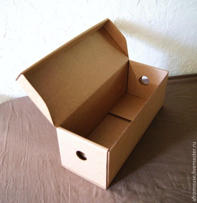Как сделать коробочку с крышкой легко