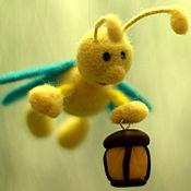Аксессуары handmade. Livemaster - original item Keychain - Firefly. Handmade.