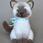 Куклы и игрушки handmade. Livemaster - original item Felted toy Cat. Handmade.