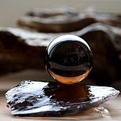 Фен-шуй и эзотерика handmade. Livemaster - original item Ball of smoky quartz, 40 mm. Handmade.