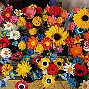 """Цветы и флористика ручной работы. Ярмарка Мастеров - ручная работа Букет """"Ассорти"""". Handmade."""