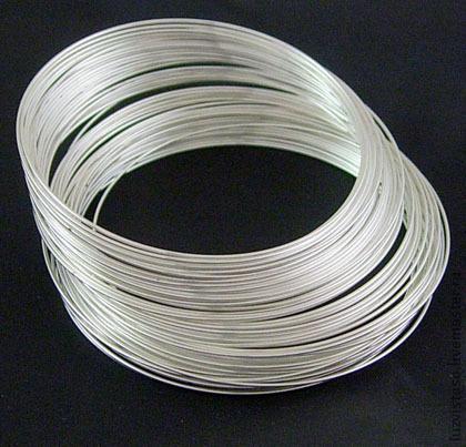 Серебряная проволока 0.3 мм (серебро 925 пробы)