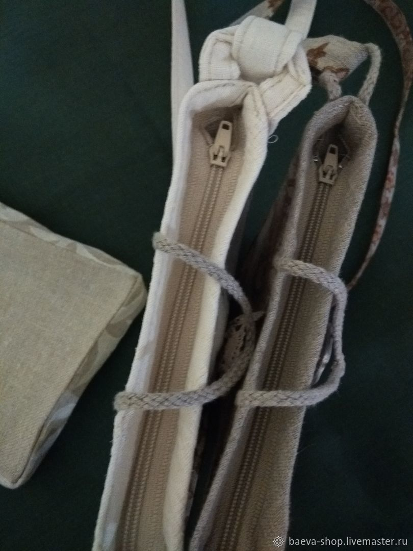 Льняная сумка