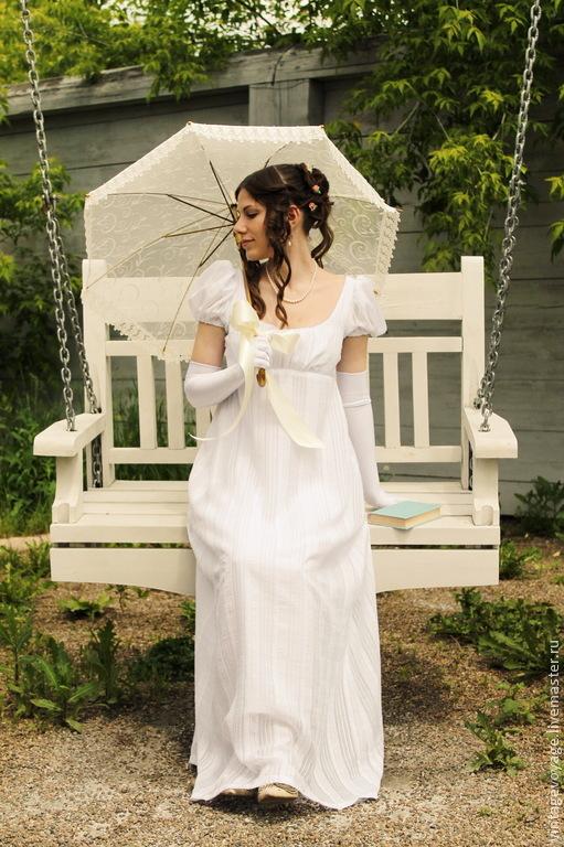 белое свадебное платье хризантема