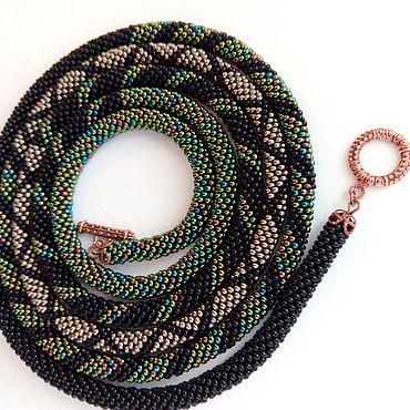 Decorations handmade. Livemaster - original item Lariat of beads