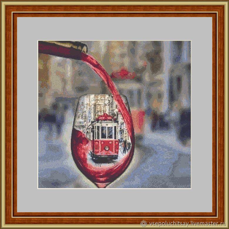 """Схема для вышивки крестом """"Трамвайчик"""", Схемы для вышивки, Владимир,  Фото №1"""
