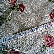 """Для дома и интерьера ручной работы. Ярмарка Мастеров - ручная работа Прихватки """"Дом там, где сердце"""". Handmade."""