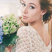 Свадебный салон ручной работы. Ярмарка Мастеров - ручная работа Свадебное платье. Handmade.