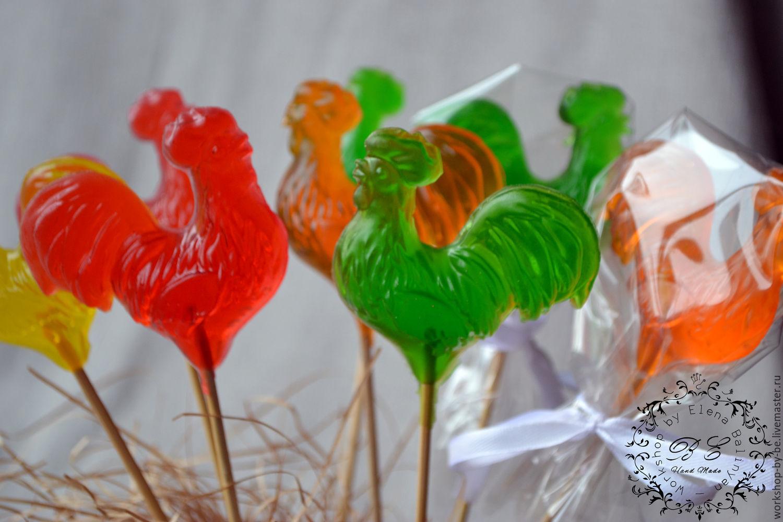 Петушки из сахара рецепт Как сделать петушки