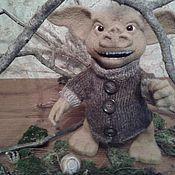 Куклы и игрушки ручной работы. Ярмарка Мастеров - ручная работа пискун (спайдeрвик, хроники). Handmade.