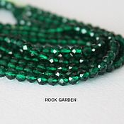 Материалы для творчества handmade. Livemaster - original item Green spinel - 3mm No. №100. Handmade.