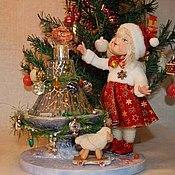 Куклы и игрушки ручной работы. Ярмарка Мастеров - ручная работа Рождественское Чудо!. Handmade.