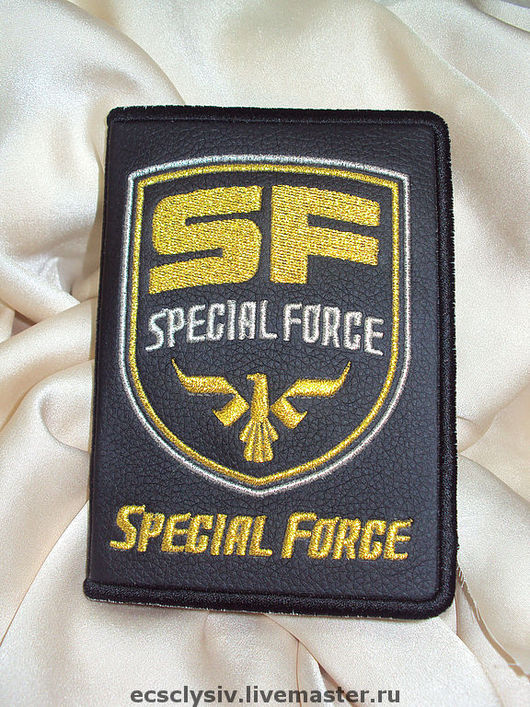 Обложки ручной работы. Ярмарка Мастеров - ручная работа. Купить Обложка для паспорта Special Force. Handmade. Обложка, обложка на автодокументы