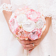Pastel brooch-bouquet, Wedding bouquets, Moscow,  Фото №1