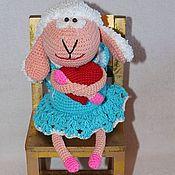 Куклы и игрушки ручной работы. Ярмарка Мастеров - ручная работа Овечка приносящая любовь.. Handmade.