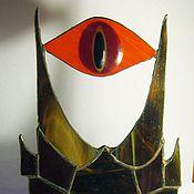 Для дома и интерьера ручной работы. Ярмарка Мастеров - ручная работа Витражная Башня Саурона. Handmade.