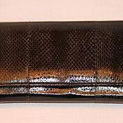 Сумки и аксессуары ручной работы. Ярмарка Мастеров - ручная работа Кошелёк из кожи змеи. Handmade.