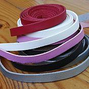 Материалы для творчества handmade. Livemaster - original item Cord for jewelry, 10 mm., artificial leather. Handmade.