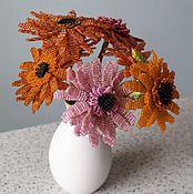 Цветы и флористика handmade. Livemaster - original item gerberas in a vase. Handmade.