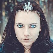 """Украшения ручной работы. Ярмарка Мастеров - ручная работа Диадема """"Daughter of the Winter"""". Handmade."""