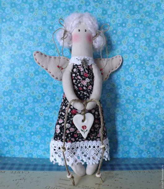 Коллекционные куклы ручной работы. Ярмарка Мастеров - ручная работа. Купить Ангел. Хранитель домашнего уюта. Беленькая. Handmade. Ангел