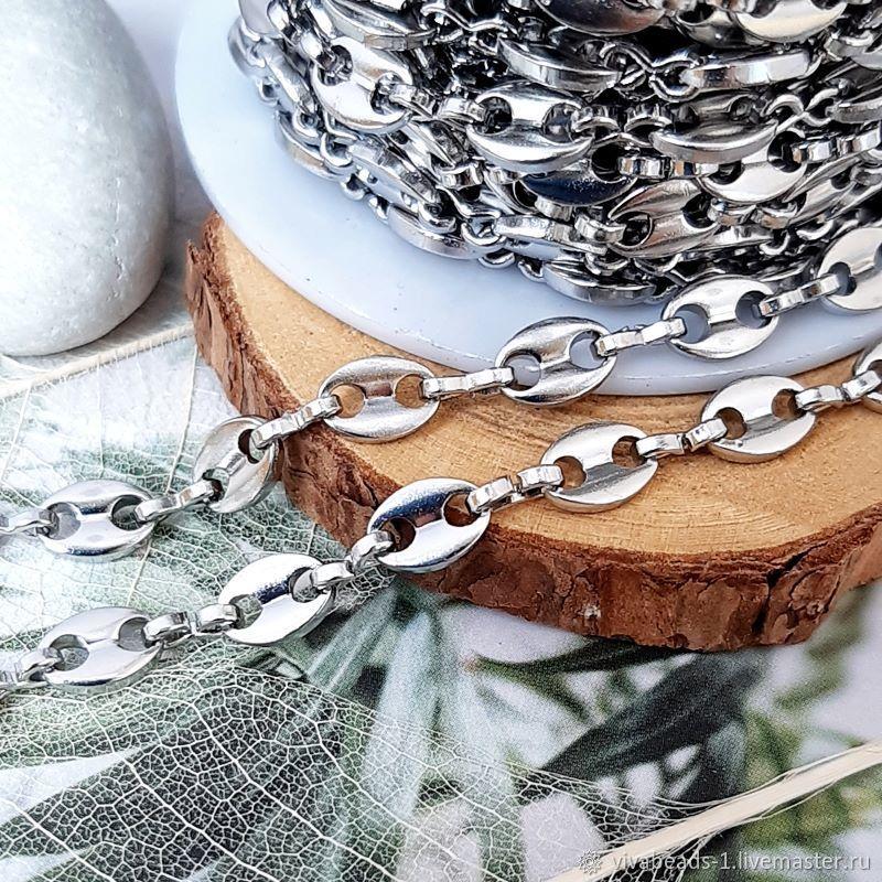 50 cm steel Chain 5 mm (width) (4414), Chains, Voronezh,  Фото №1