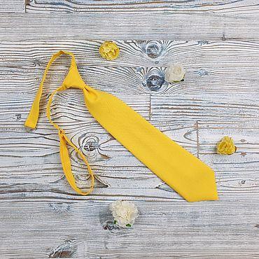 Accessories handmade. Livemaster - original item Children`s bow tie yellow. Handmade.