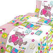 Текстиль ручной работы. Ярмарка Мастеров - ручная работа Ткань для детского постельного белья. Handmade.